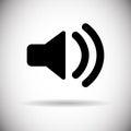 Music Sound Volume Megaphone Icon Royalty Free Stock Photo
