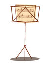 Music stand Royalty Free Stock Photo
