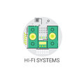 Music Studio Audio Hi Fi System Icon