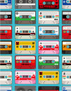 Music tape seamless Royalty Free Stock Photography