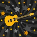 Guitar theme Royalty Free Stock Photo