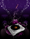 Music vector composition Royalty Free Stock Photo