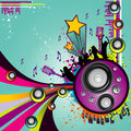 Music vector composition Stock Photos