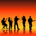 Musical Band Royalty Free Stock Photos