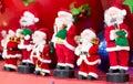 Musical band of Santa Claus Royalty Free Stock Photo