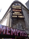 Musical de Memphis no teatro de Shubert, Broadway Fotos de Stock