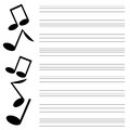 Musical design black music on white background music books Stock Photo