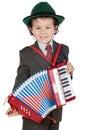 Musical futuro adorabile Immagine Stock Libera da Diritti