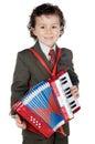 Musical futuro adorabile Immagine Stock