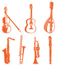 Musical instrument Stock Images