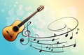 A musical instrument illustration of Royalty Free Stock Photo