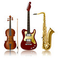 Musical Instruments Royalty Free Stock Photos