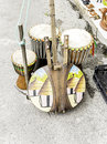 Musical instruments from Africa Royalty Free Stock Photo