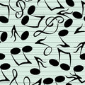 Musical notes pattern Royalty Free Stock Image