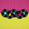 Musical retro background Royalty Free Stock Photo