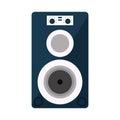 Musical speaker audio stereo Royalty Free Stock Photo