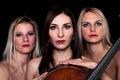 Musical Trio! Stock Photo