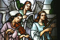 Musician angels Royalty Free Stock Photo