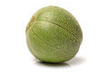 Muskmelon on a white background Royalty Free Stock Images