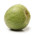 Muskmelon on a white background Royalty Free Stock Photo