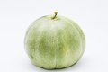 Muskmelon in white background isolated it is a popular fruit china Stock Image
