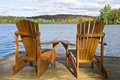 Muskoka Chairs Stock Photos