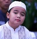 Muslim Boy at Idul Fitri, Indonesia