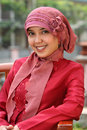Muslim Business Woman Royalty Free Stock Photography