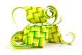 Muslim ketupat (rice dumpling) Royalty Free Stock Photo