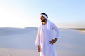 Muslim man feels headache and general malaise, suffers from stan