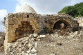 Muslim tomb ruins of in israel Royalty Free Stock Photos