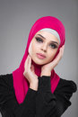 Muslim woman in hijab. Royalty Free Stock Photo