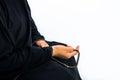 Muslim woman praying for Allah, muslim God