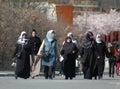 Muslim women Royalty Free Stock Photo