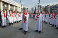 Muslims worldwide marks Ashura Istanbul Shiite community. Royalty Free Stock Photo