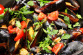 Mussel stew Royalty Free Stock Images