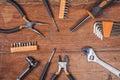 Must handyman, background Royalty Free Stock Photo