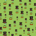 Mustaches and Accessories Seamless Pattern