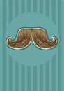 Mustaches background.Vector Royalty Free Stock Photos