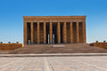 Mustafa Kemal Ataturk mausoleum in Ankara Turkey Royalty Free Stock Image