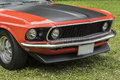Mustang front end Royalty Free Stock Photo