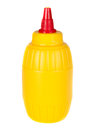 Mustard bottle Royalty Free Stock Photo