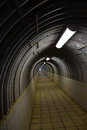 Mute tunnel there is always light at the end of a Royalty Free Stock Photo