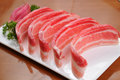Mutton roll chinese hot pot lamb Royalty Free Stock Photos