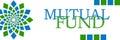Mutual Fund Green Blue Circular Horizontal Royalty Free Stock Photo