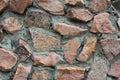 Muur van graniet Stock Fotografie