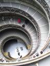Muzeów Rome schodki Vatican Obraz Royalty Free