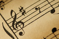 Muzyk uwagi Zdjęcia Stock