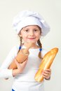 My dream is to become  baker Royalty Free Stock Photo