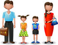 My family (icons) Royalty Free Stock Photo